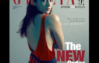 Alia Bhatt On The Cover Of Grazia India Magazine April 2017