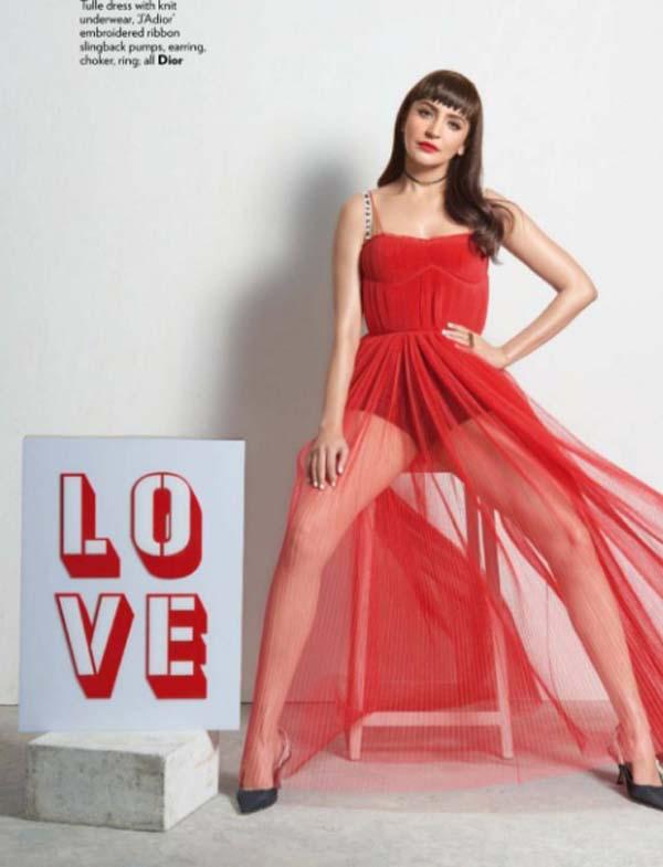 Anushka Sharma Photoshoot For Vogue India Magazine March 2017 Image 3