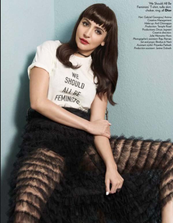 Anushka Sharma Photoshoot For Vogue India Magazine March 2017 Image 5