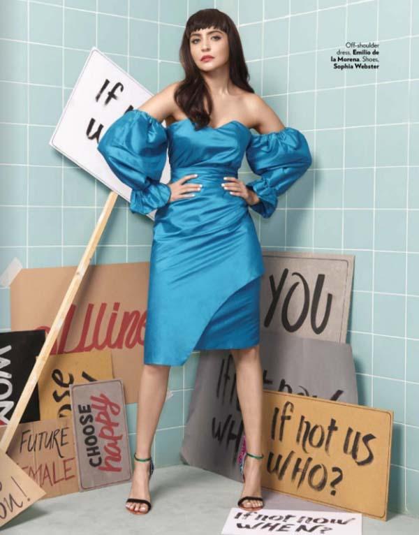 Anushka Sharma Photoshoot For Vogue India Magazine March 2017 Image 7