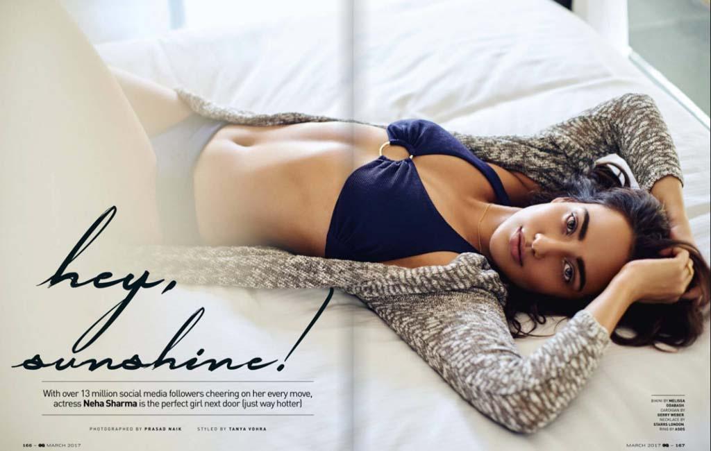 Neha Sharma Photoshoot for GQ India Magazine March 2017 Image 3
