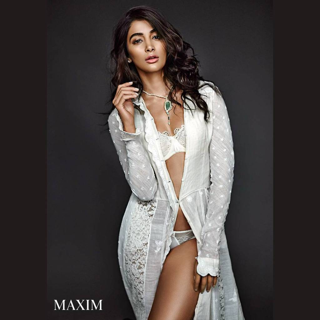 Pooja Hegde Photoshooot For Maxim India Magazine March 2017