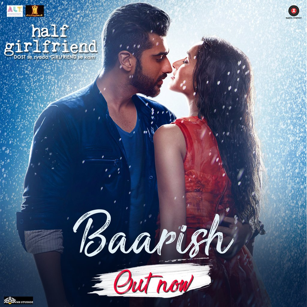 Baarish Video Song From Half Girlfriend