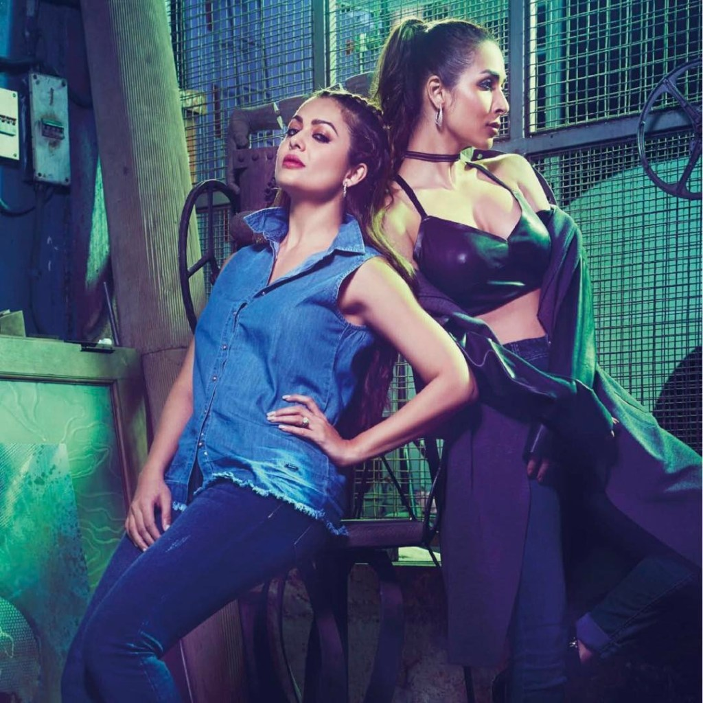 Malaika Arora and Amrita Arora Photoshoot for Hi! Blitz Magazine India March-April 2017 Image 5