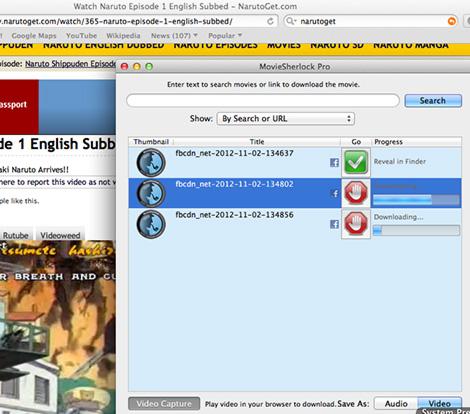 MovieSherlock 6.2.0 Mac 破解版 - 视频下载和转换工具