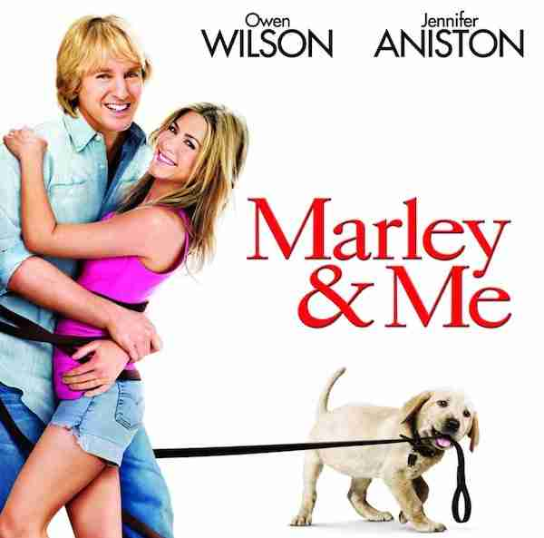 DVD Review: MARLEY AND ME - Is It Just A Dog's Dinner Of A Movie? - Movies In Focus