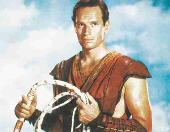 8. Charlton Heston