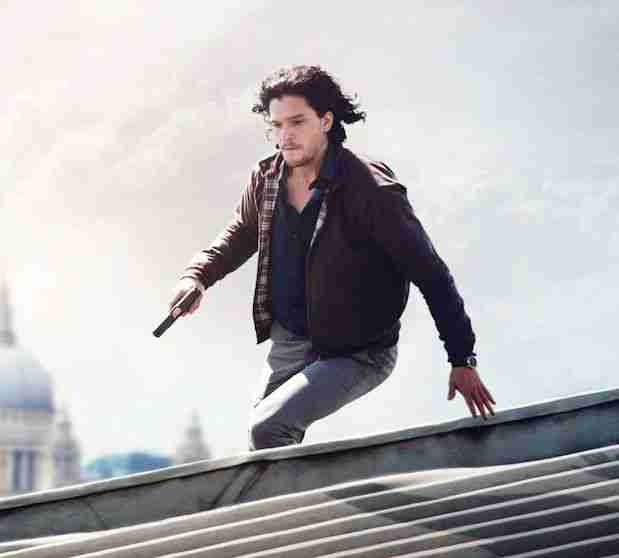 Kit Harington poster trailer