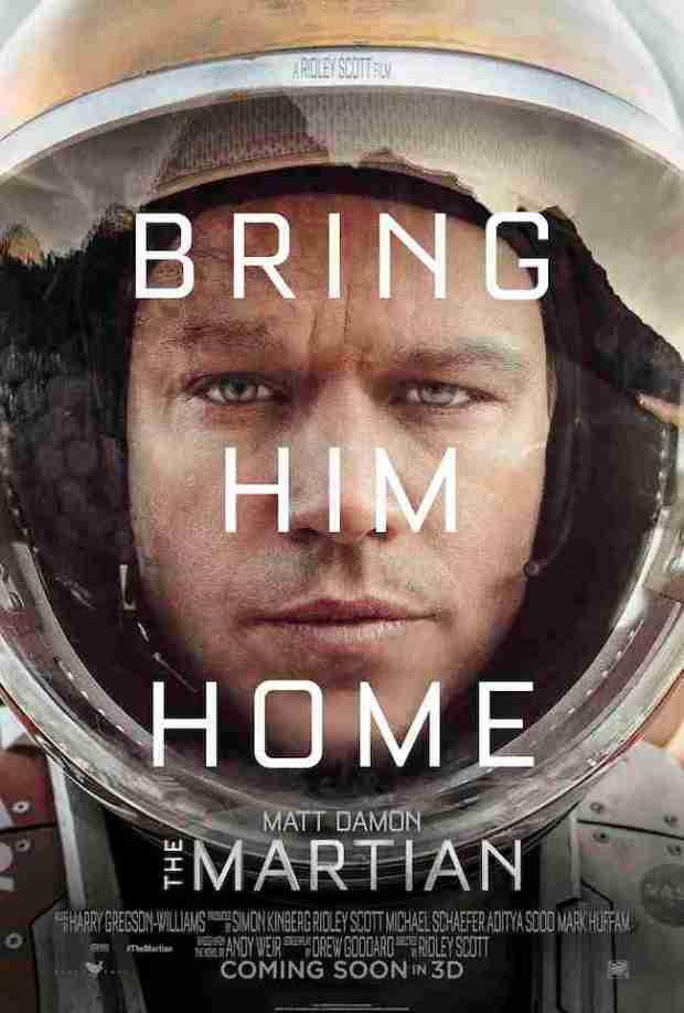 The Martian Teaser One Sheet