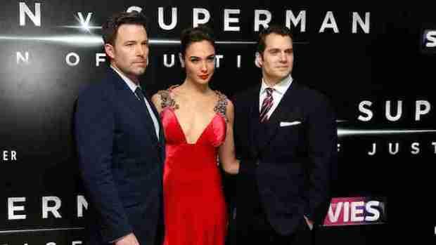 Britain Batman V Superman Premiere