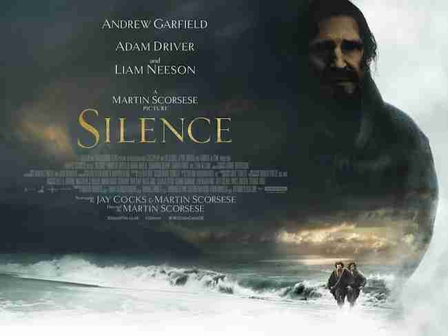 The SILENCE Poster Gives The Hard Sell - Movies In Focus