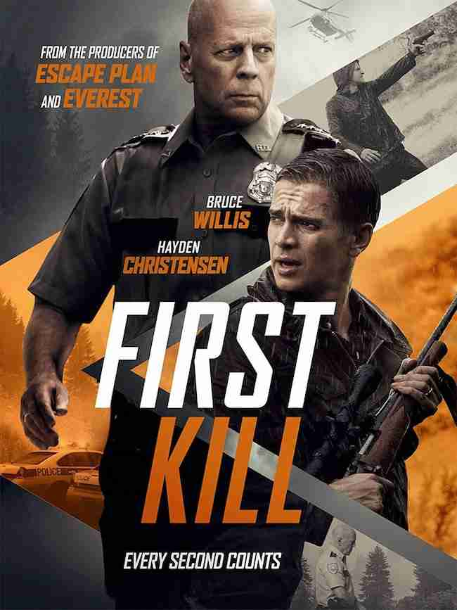 Competition: WIN FIRST KILL Starring Bruce Willis And Hayden Christensen On DVD