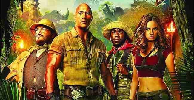 Competition: Win JUMANJI: WELCOME TO THE JUNGLE On Blu-ray