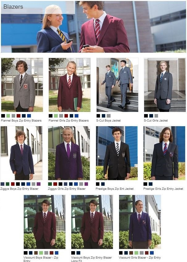 School Blazers wholesale prices