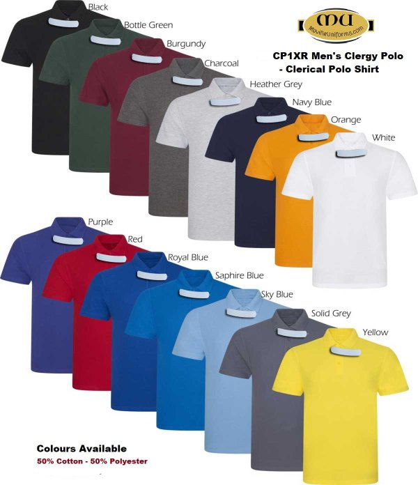 Mens Summer Clergy Shirt