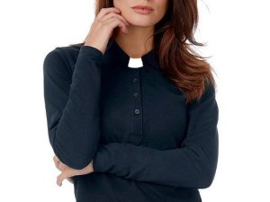 Ladies Clergy Clerical Polo Style Shirts