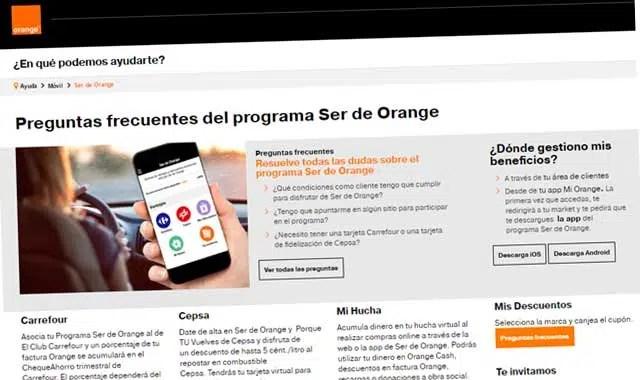Recarga orange prepago online dating