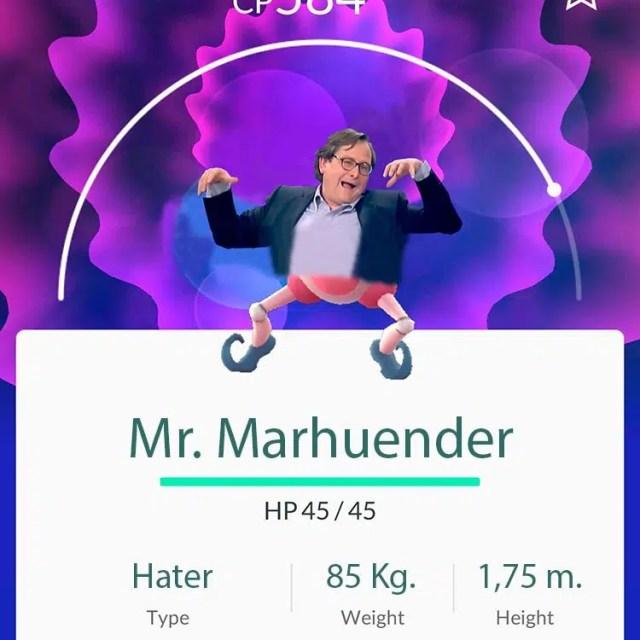 Pokémon de Paco Marhuenda