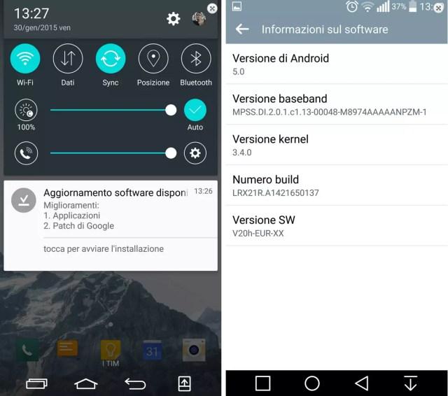 lg g3 andrid 5.0 lollipop 1 Actualização para Android Lollipop no LG G3 reatada image
