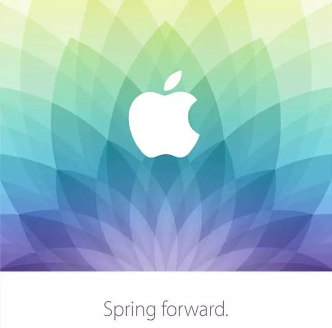 Invitación de prensa del Apple Watch