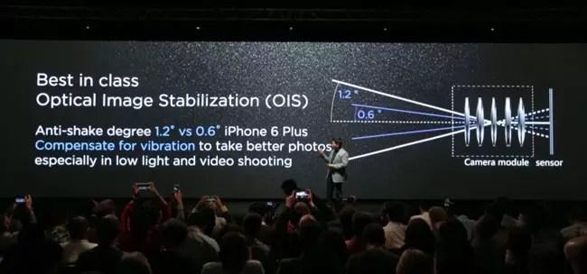 Camara del Huawei P8
