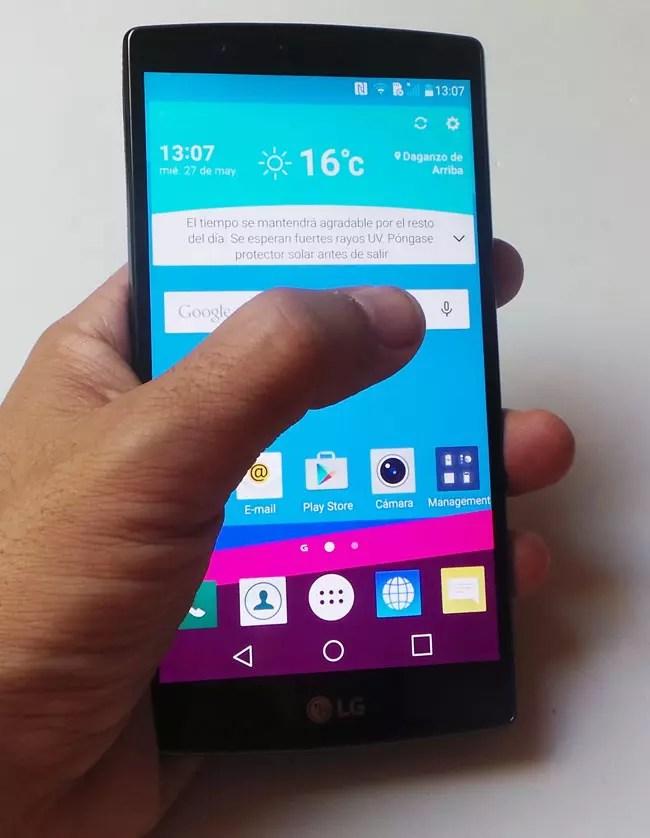 Uso del LG G4