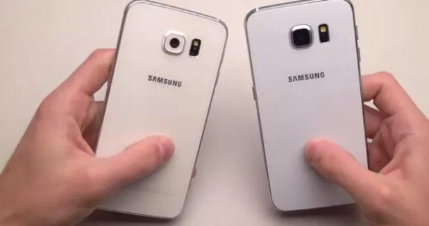 Acabado de la carcasa del Samsung Galaxy S6
