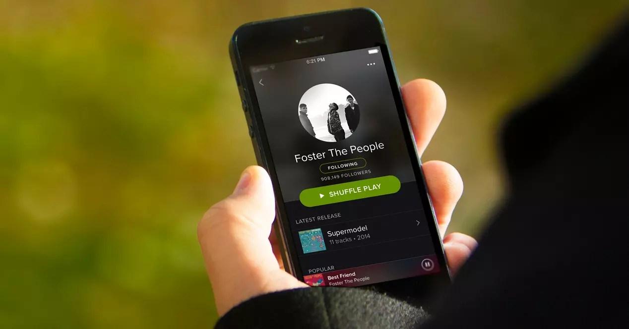 Spotify nuevos servicios.