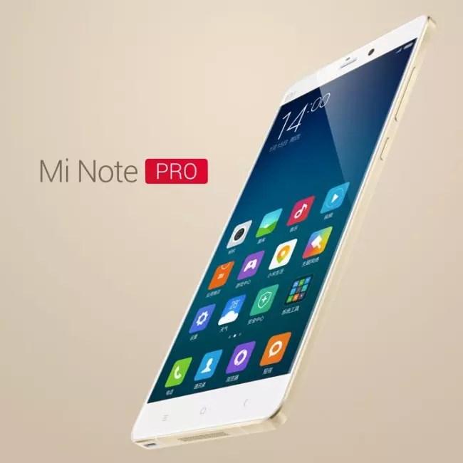 Carcasa del Xiaomi Mi Note Pro