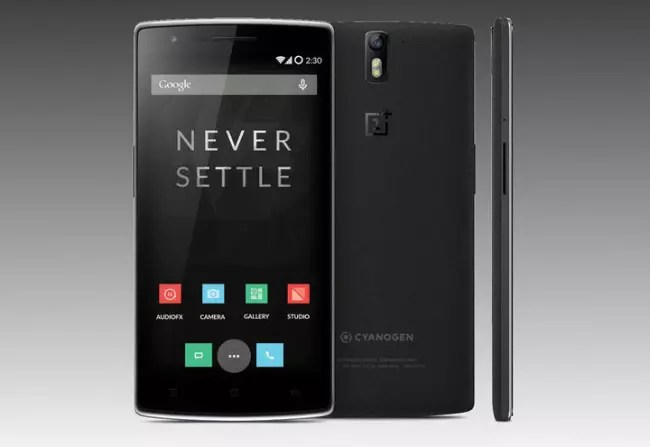OnePlus One con carcasa negra