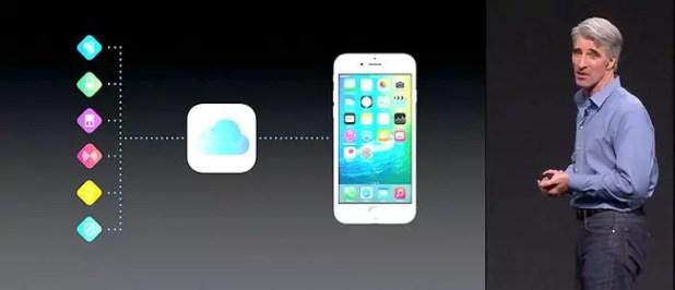 iOS 9 internet things