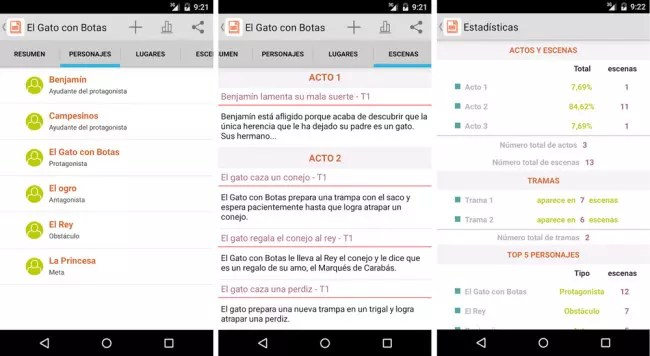 Story Planner iOs y Android.