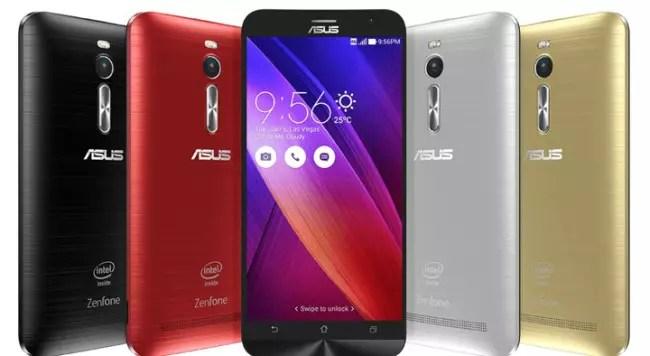 Colores disponibles para el Asius Zenfone 2