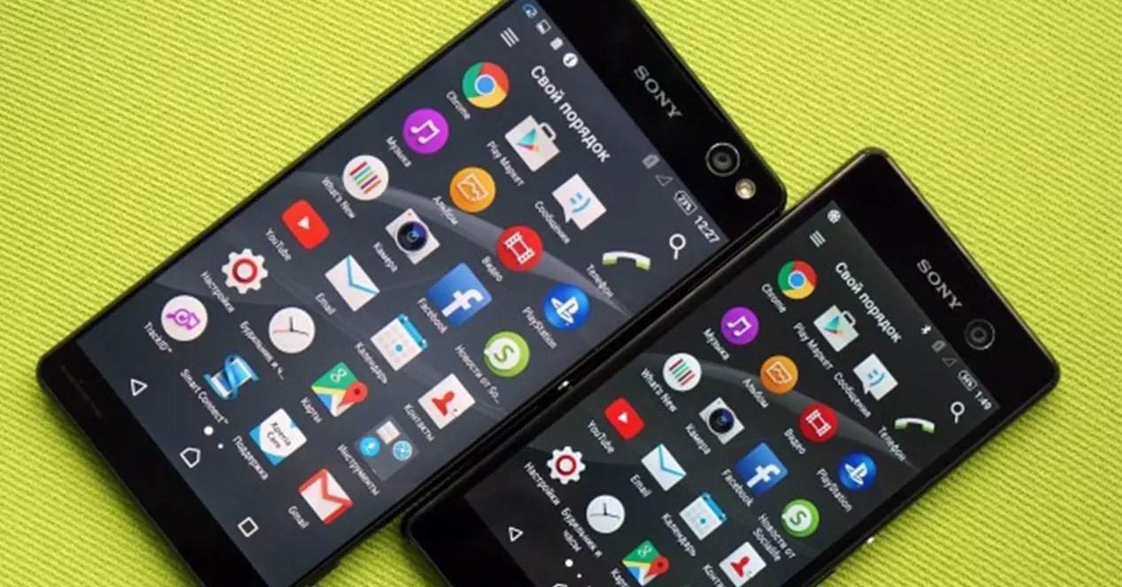 Aspecto del Sony Xperia C5 Ultra