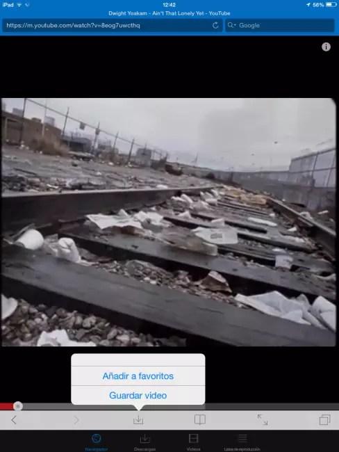 descarga youtube iphone