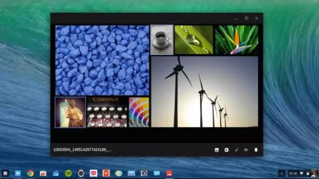 Interfaz de Chrome OS