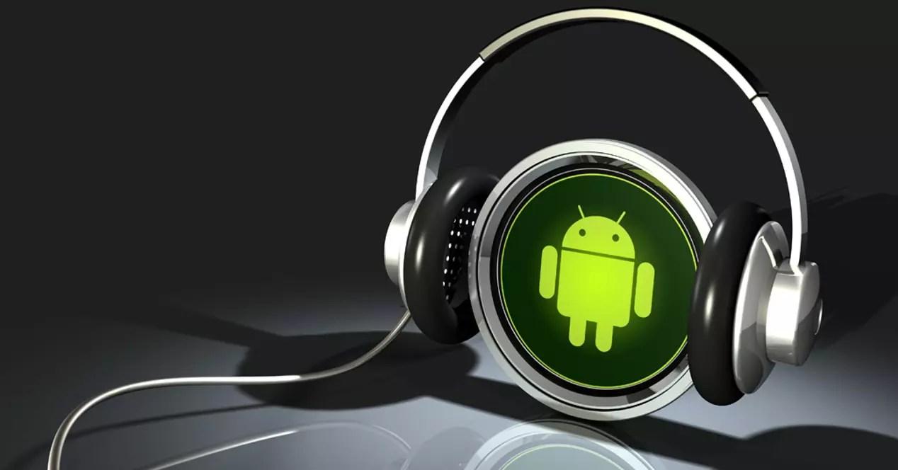 Android escuchando música