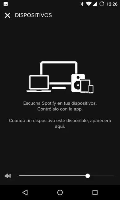 Conectar dispositivos a Spotify
