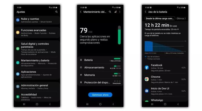 Samsung battery consumption