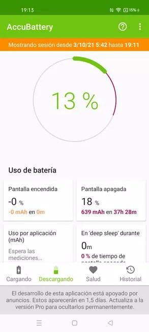 Realme GT Master Edition consumption data