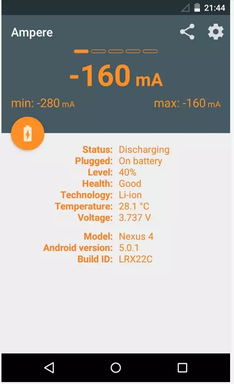 ampere app android