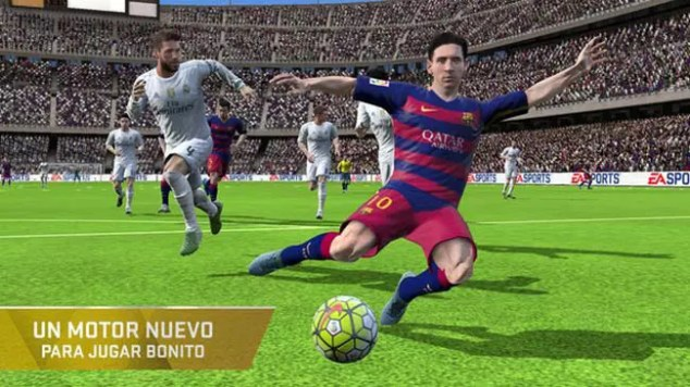 FIFA 16 Ultimate Team motor grafico
