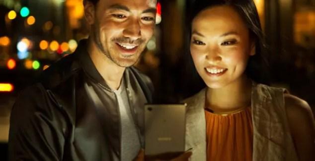 Brillo de la pantalla 4K del Sony Xperia Z5 Premium