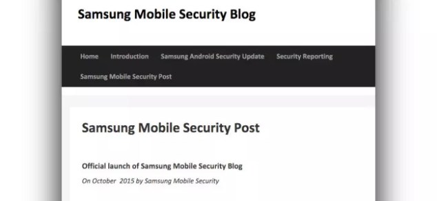 Samsung Mobile Blog