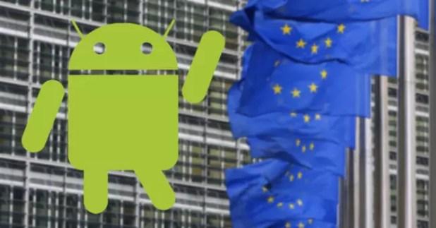 logo android comisión europea
