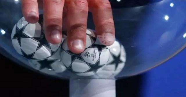 bolas sorteo champions