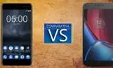 Nokia 6 o Moto G4 Plus, ¿cuál es el mejor terminal de gama media?