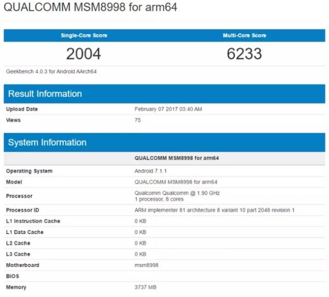 pantalla y el rendimiento del Samsung Galaxy S8