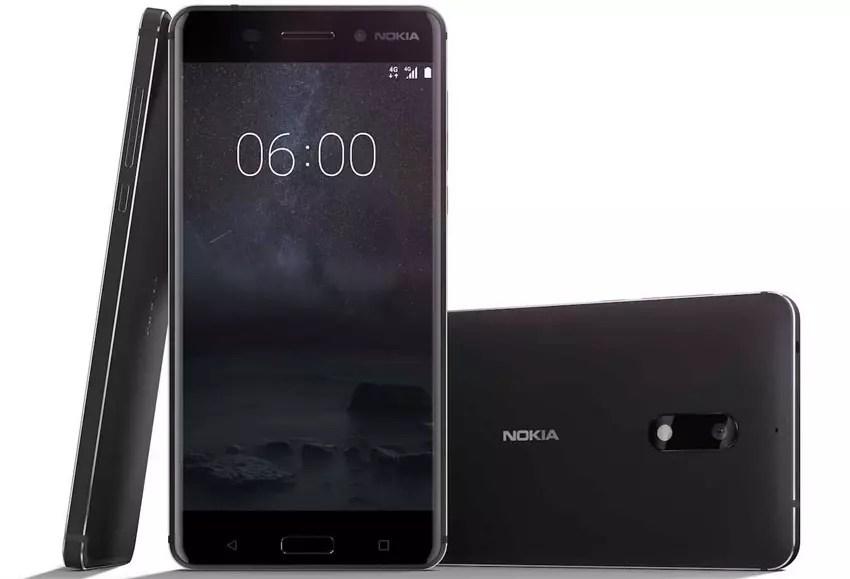 Nokia seis de color negro