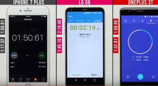 velocidad del LG G6